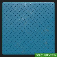 PBR painted metal floor blue preview 0002